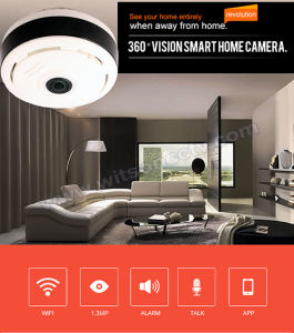 CCTV 1.3 Megapixels 3D Vr Fisheye Wireless WiFi IP Camera 360 Degree Panoramic Security Camera pictures & photos