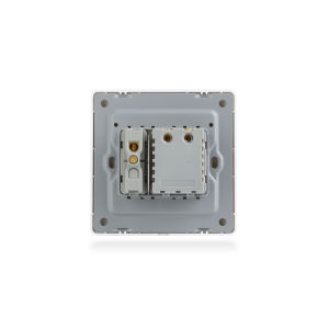 PC White One Gang Switch with Fan Dimmer Switch pictures & photos