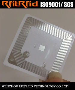 13.56MHz Programmable Anti-Fake Security RFID Sticker pictures & photos