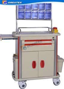 ABS Hospital Medical Anesthesia Serving Trolley (GT-Q202) pictures & photos