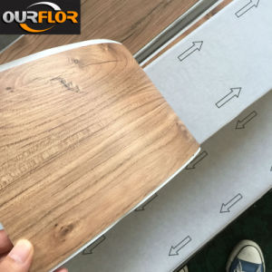 Self-Adhesive PVC Vinyl Flooring Tiles / PVC Sheet with Self Sticker pictures & photos