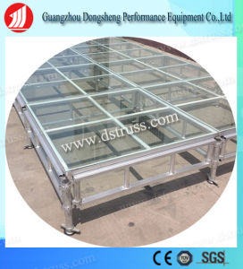 Load-Bearing Stage Performance Aluminum Alloy Glass Stage pictures & photos