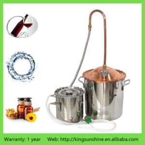 10L/3gal Handmade Alcohol Distiller Copper Lid Brewing Equipment pictures & photos