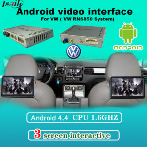 Headrest Monitor Multimedia Video Interface for VW Golf 7 with Android Navigaiton Built-in Bluetooth, WiFi, Bt pictures & photos