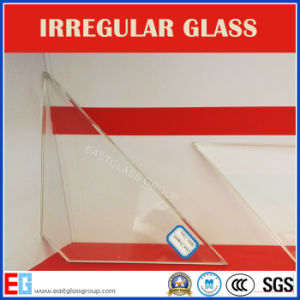 Water Cut Perforated Irregular Shaped Tempered Glass for Architectural/Car/Electronic pictures & photos