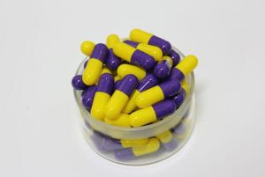 Orange Color Empty Capsules for Medicine Package Size 0 pictures & photos