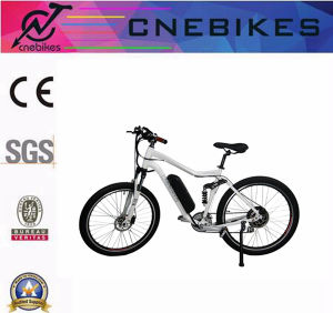 Full Suspension Electric Mountain Bike Electric Racing Bike 36V 350W /500W /1000W pictures & photos