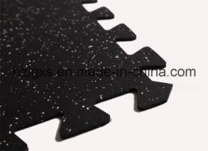 EPDM Rubber Floor Mat Interlocking Rubber Tile for Gym Equipment pictures & photos