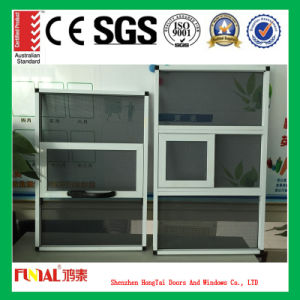 Top Quality Single Hung Window with Flyscreen pictures & photos