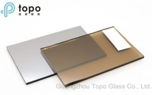 4mm-10mm Dark Bronze / Golden Bronze Coated Reflective Flat Construction Glass (R-GB) pictures & photos