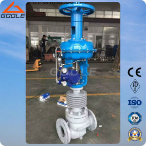 High Temperature Pneumatic Flow Control Valve ((ZJHM) pictures & photos