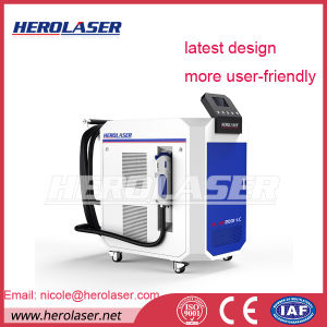 High Efficiency Mechanical Rust Decaling Laser Machine 200W 500W pictures & photos