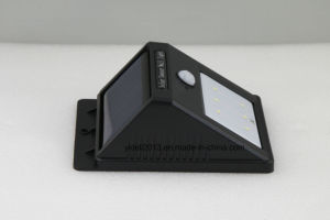 Good Price Solar Panel Weatherproof 6 LED Triangle Wall Light pictures & photos