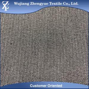 Herringbone Polyamide Rayon Elastane Stretch Bengaline Fabric for Dress pictures & photos