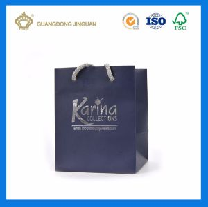 Personalized Cheap Custom Elegant Shopping Gift Paper Bag (For Jewelry) pictures & photos