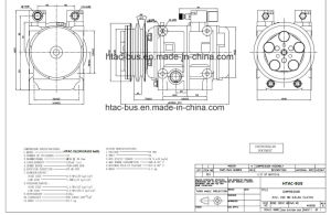 High Quality Auto A/C Piston Compressor 2A Clutch 313cc/R pictures & photos