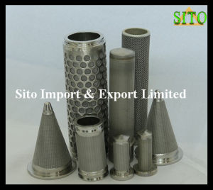 Mesh Cylinder Filter/Strainer Elements pictures & photos