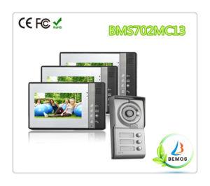 """Wired 7"""" Color TFT LCD Video Intercom Doorphone Doorbell pictures & photos"""