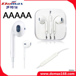 Mobile Phone TPE Earphone with Line Control for iPhone 6 pictures & photos