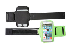 China Manufacturer New Product Adjustable Neoprene Running Armband for iPhone pictures & photos