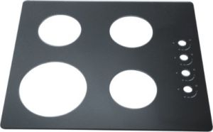3.2mm 4mm 5mm 6mm 8mm Tempered Glass Gas Stove Cover pictures & photos