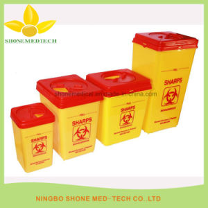 Plastic Medical Disposal Sharp Container pictures & photos