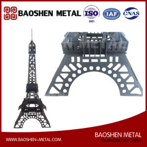 La Tour Eiffel Tower Metal Office/Exhibition Hall/Gift/Home Decoration Laser Cutting Precisely Quality-Oriented pictures & photos