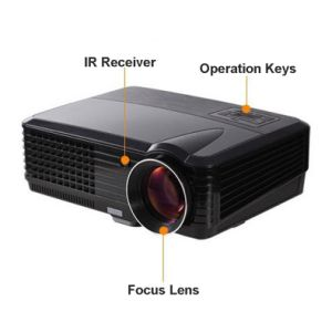 Yi-801 LED Projector 2000lumens Android WiFi 3D Beamer Home Cinema Theatre Projector TV LCD Video HDMI VGA pictures & photos