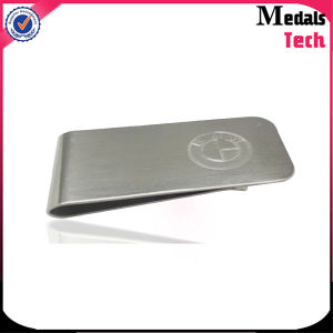 316L Stainless Steel Wallet Money Clip with Brand Logo pictures & photos
