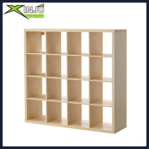4-Tier Espresso Wooden/Wood Display Media Cabinet Bookcase pictures & photos