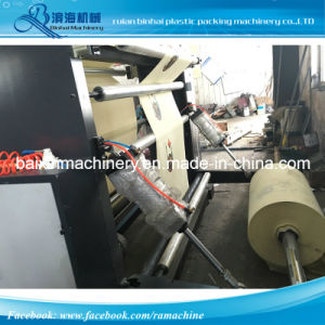 Four Color Flexo Printing Machine Non Woven Fabric pictures & photos