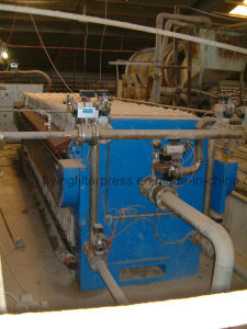 Breaching Earth Filteration Filter Press X20/630 pictures & photos