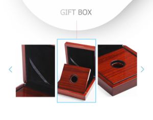 Convenient Custom Retro High Glossy Lacquer Rigid Gift Wooden Box pictures & photos