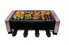 Ce RoHS Approval Indoor Mini Electric BBQ Barbecue Gr-2020 350W Raclette Grill pictures & photos