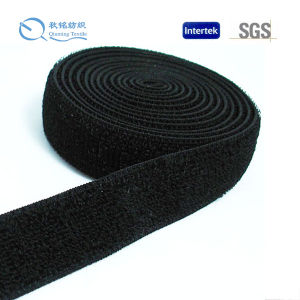 Fashionable Colour and Packing Customized Weaing Nylon Looped Tape for All Application pictures & photos