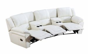 Home Cinema Leather Sofa for Modern Sofa with Recliner Sofa pictures & photos