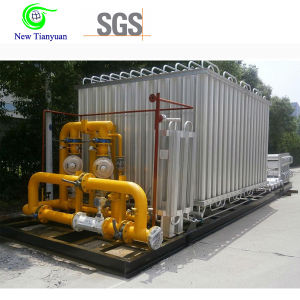 Gas Pressure Regulating Skid Cabinet with Filtering Metering pictures & photos
