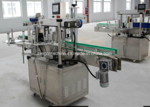 Automatic 2000bph 6000bph 11000bph Round Olive Oil Bottle Liquid Shampo Square Bottle Glass Bottle One Side 2side   Adhesive Sticking Labeler Machine pictures & photos