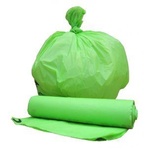 En13432 Certificate Wholesale Cornstarch 100% Biodegradable Compostable Plastic Garbage Bag pictures & photos