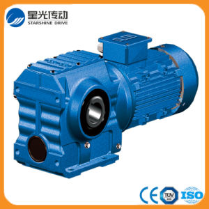 Foot Mounting Helical Gear Box with Hollow Shaft pictures & photos