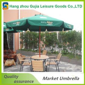 Wholesale Wooden Outdoor Straight Beach Patio Umbrella