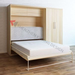 Multifunctional Vertical Foldaway Bed Mechanism pictures & photos