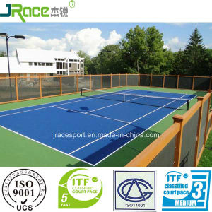 Comfortable Tennis Court Sport Surface Tennis Court Flooring pictures & photos
