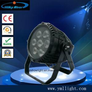 7PCS Quad-in-1 PAR LED Waterproof Light pictures & photos