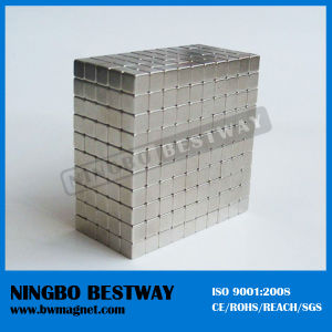 Permanent Strong Neodymium Block N52 Magnet in Chile pictures & photos