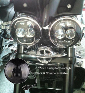 Harley Dividsion 5.75′′ LED Headlight Daymaker Projector Motorcycle Headlamp pictures & photos