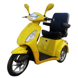 Three Wheel Travel Scooter for Elder with Luxury Chair pictures & photos