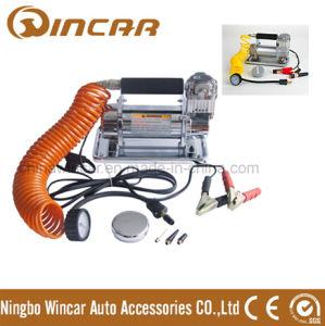 Portable Car Mini Air Compressor Powerful Pump (w1010) pictures & photos