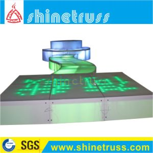 Aluminum LED Glass Lighting Stage LED Stage pictures & photos