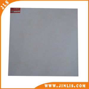 600*600mm Basic Pure Glazed White Rustic Floor Tile for Kitchen pictures & photos